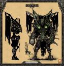 Костяной страж - воин Орд нежити (арт)
